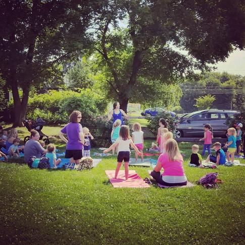 Kiddo Storytime Yoga Session