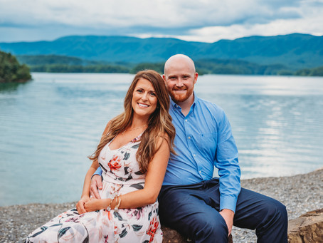 South Holston Dam + Downtown Bristol Engagement | Jared + Amy