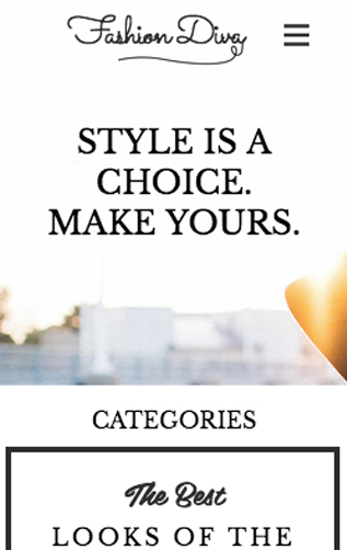 Fashion & Accessories website templates – Fashion & Style Blog