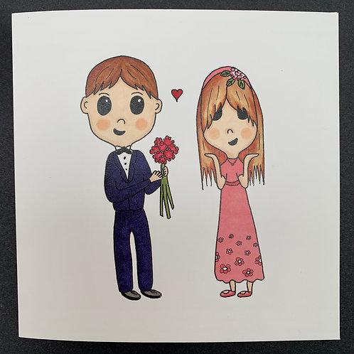 Surprise Bouquet Card