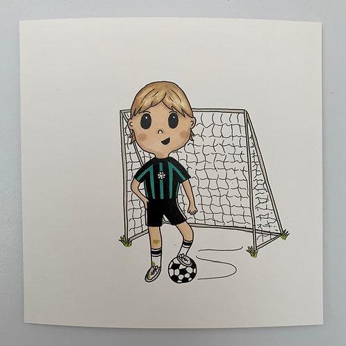 Footballer Card