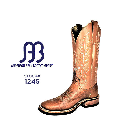 Anderson Bean 12 inch / Stock #1245