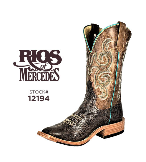 Rios of Mercedes 12 inch / Stock #12194