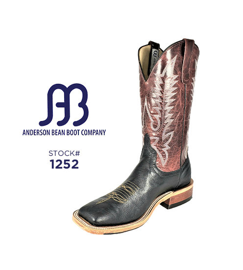 Anderson Bean 12 inch / Stock #1252