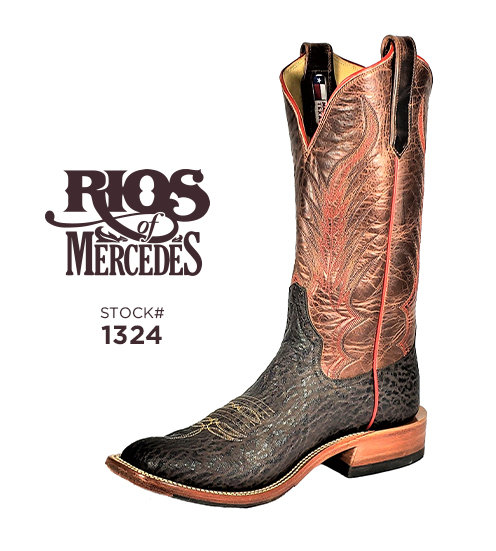 Rios of Mercedes 13 inch / Stock #1324