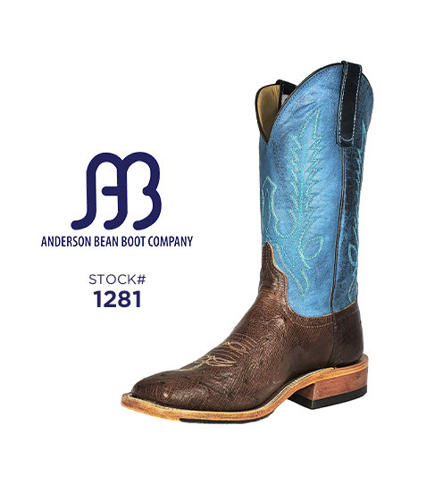 Anderson Bean 12 inch / Stock #1281