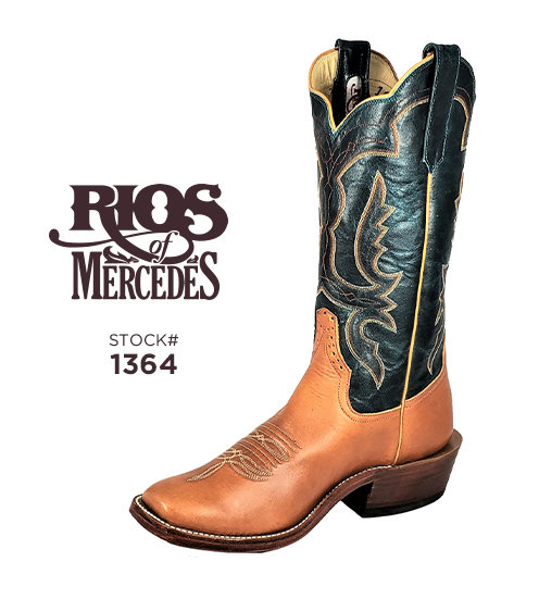 Rios of Mercedes 13 inch / Stock #1364