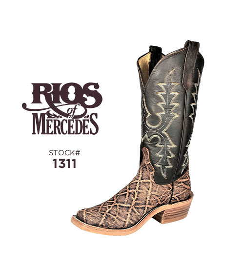 Rios of Mercedes 13 inch / Stock #1311