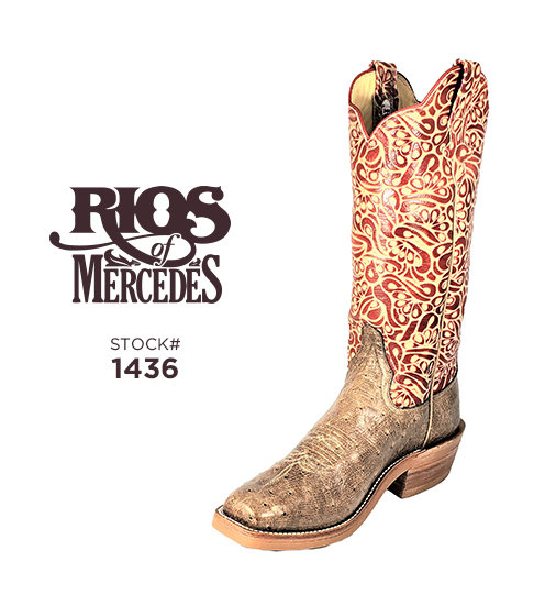Rios of Mercedes 14 inch / Stock #1436