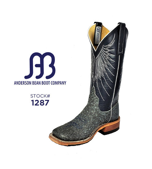 Anderson Bean 12 inch / Stock #1287