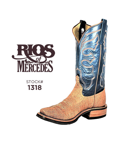 Rios of Mercedes 13 inch / Stock #1318