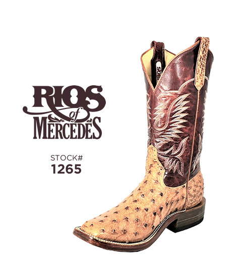 Rios of Mercedes 12 inch / Stock #1265
