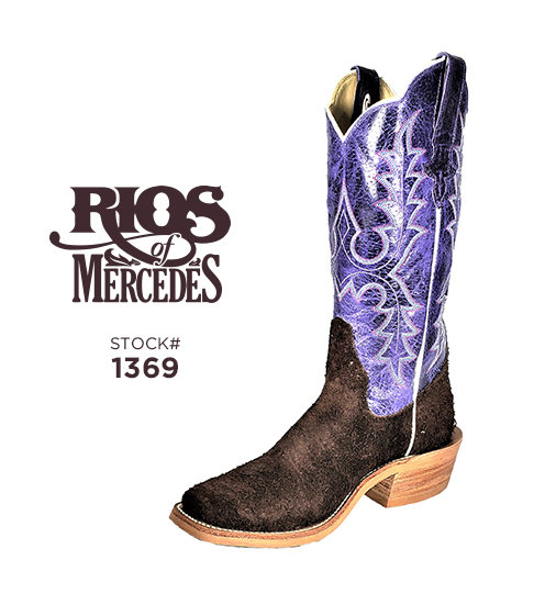 Rios of Mercedes 13 inch / Stock #1369