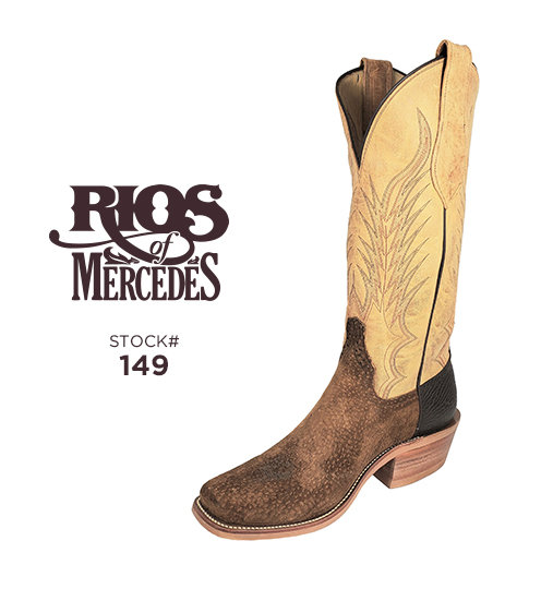 Rios of Mercedes 14 inch / Stock #149