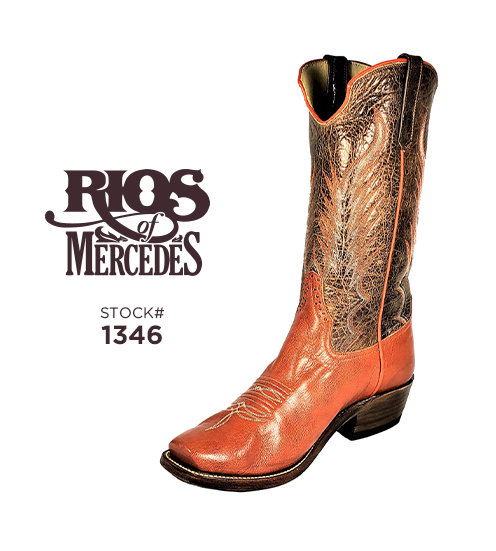 Rios of Mercedes 13 inch / Stock #1346