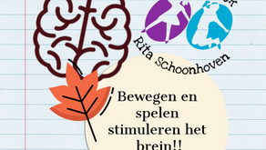 Bewegen & spelen stimuleren het brein!