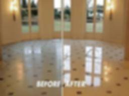 Vinyl Tile Cleaning, Floor Refinishing