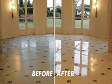 Vinyl Tile Cleaning, Floor Refinishing