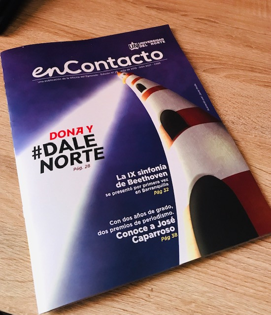 Universidad Del Norte Cover Design