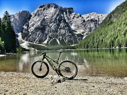 Ciclo al Lago di Braies