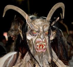 Ai Krampus Halloween gli fa un baffo