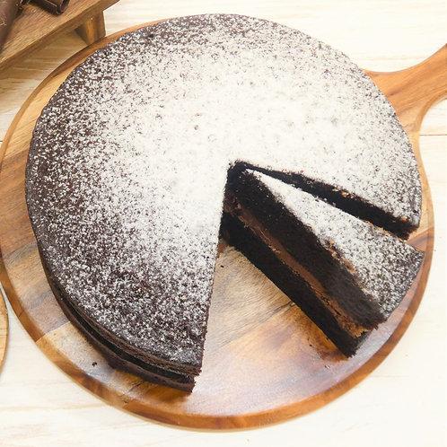 Chocolate Victoria Sponge (10 Inch) (Vegan available)