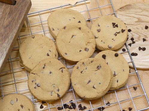 Ginger & Chocolate Cookies (8 Pack)