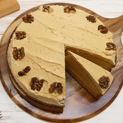Coffee & Walnut Cake (10 Inch)
