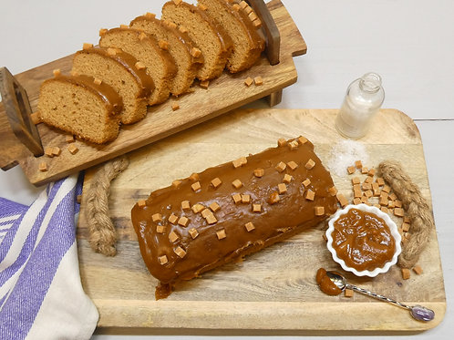 Family Size Salted Caramel Loaf