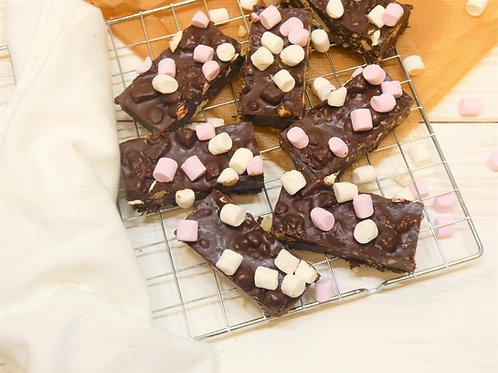 Rocky Road Tray Bake (14 Portions)