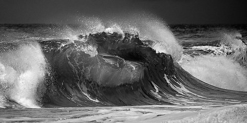 Stormy Wave Print
