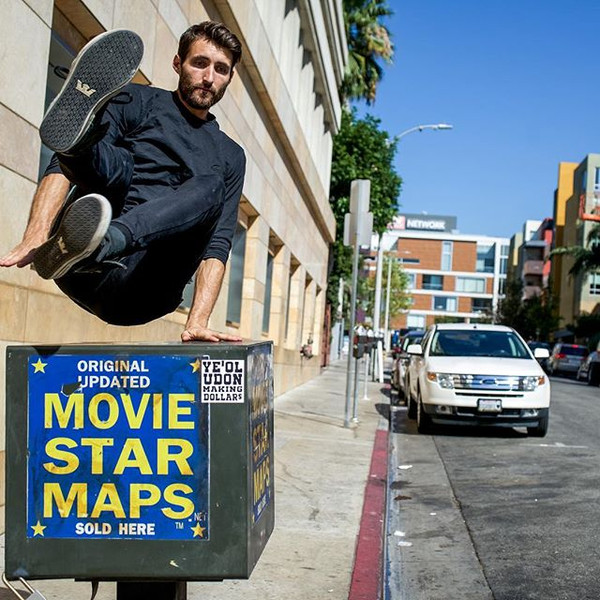 Hunting for movie stars in #Hollywood_📷
