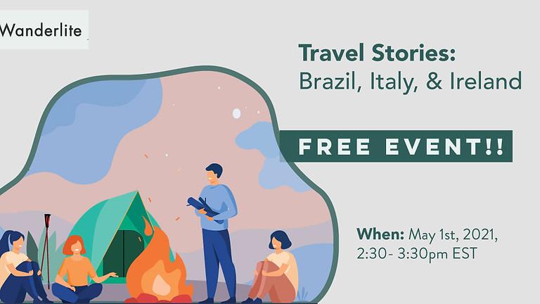 (PAST) Travel Stories