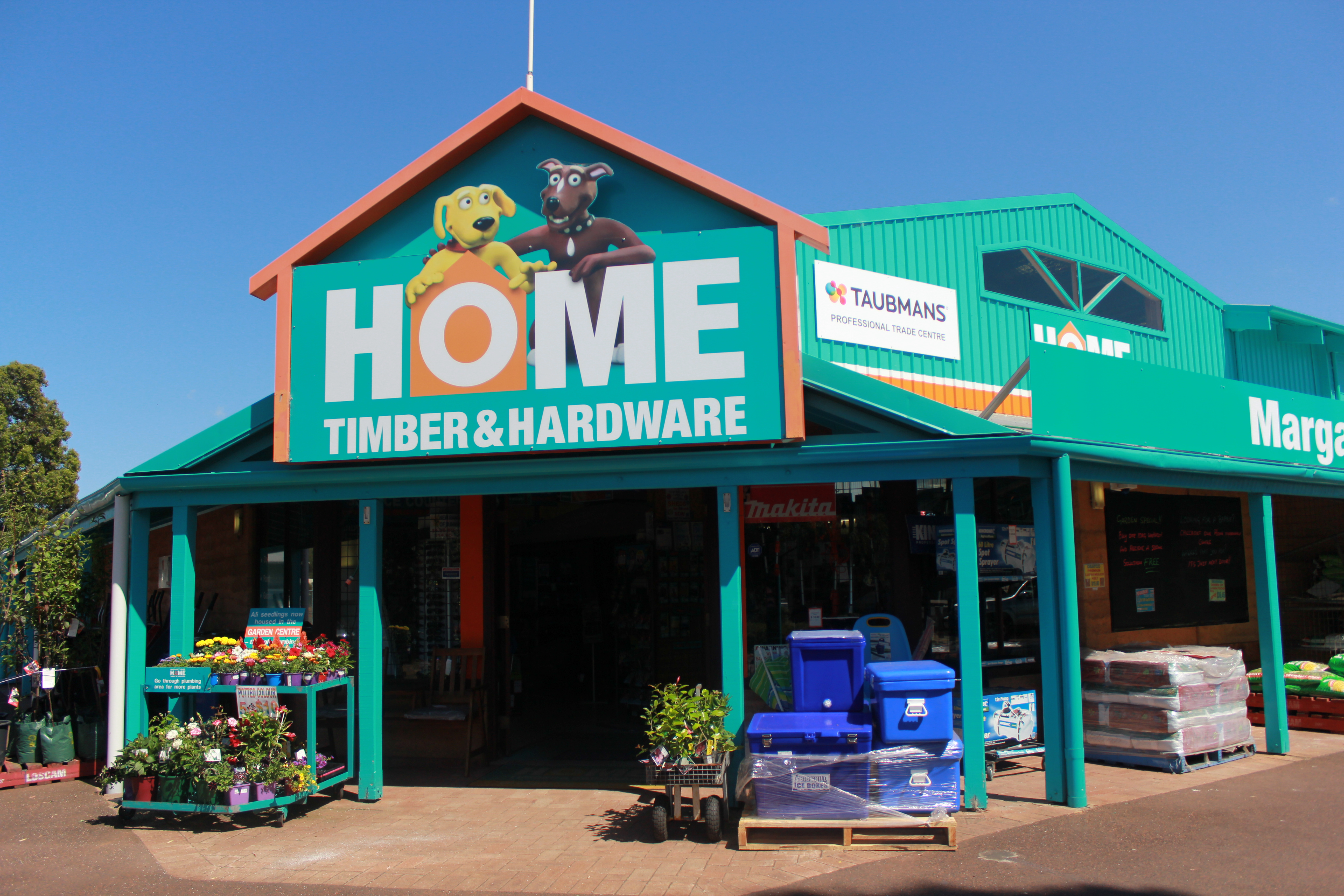 Margaret river home timber hardware