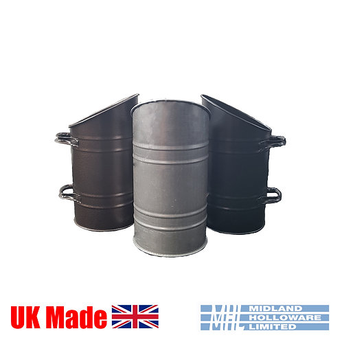 Coal Hod/Scuttle/Pail Straight sided, Various Colours