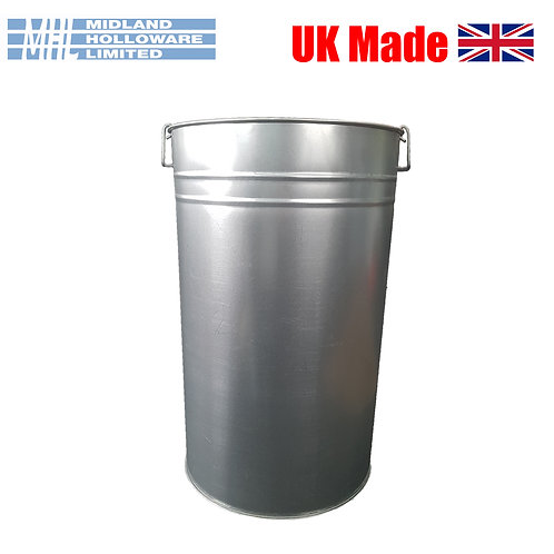 Galvanised Bin Liner (18in Straight Sided)