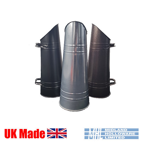 Anthracite Coal Hod/Scuttle/Pail Tapered Heavy Duty Coal storage Various Colours