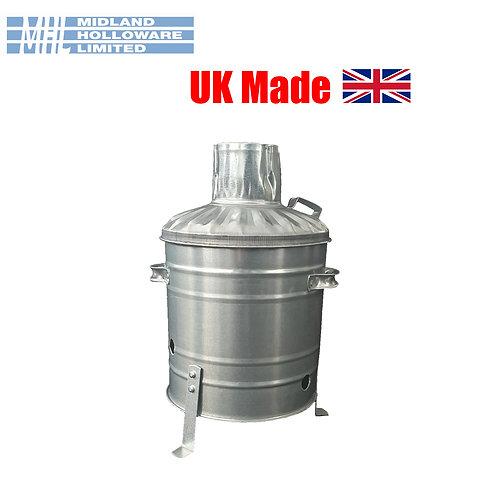 Mini incinerator small 15L Rubbish Waste burning fire bin
