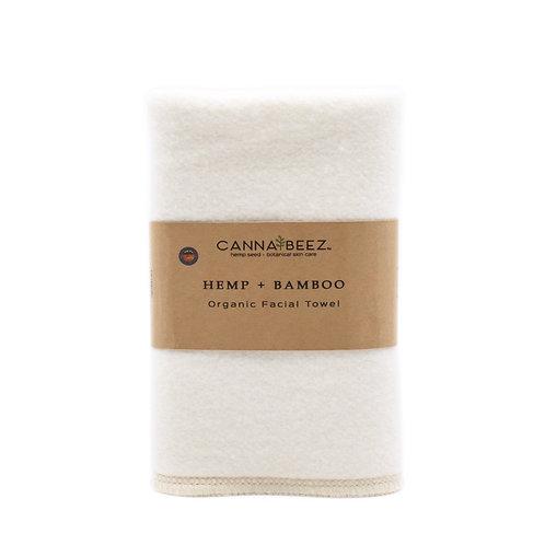 Hemp + Bamboo Organic Facial Towel