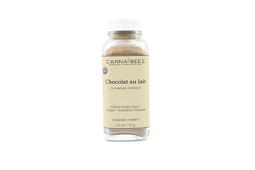 Chocolat au lait Facial Cleansing Powder