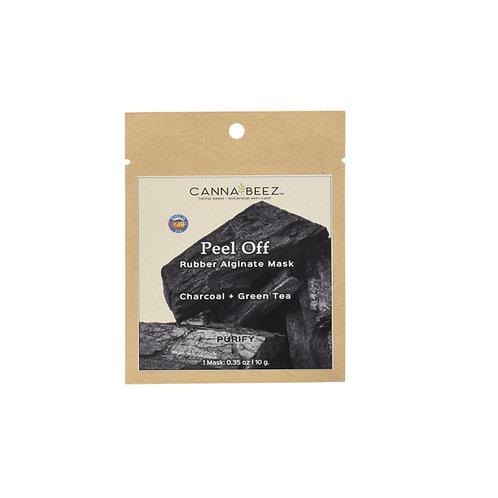 Peel Off Rubber Mask - Charcoal + Green Tea | Purify