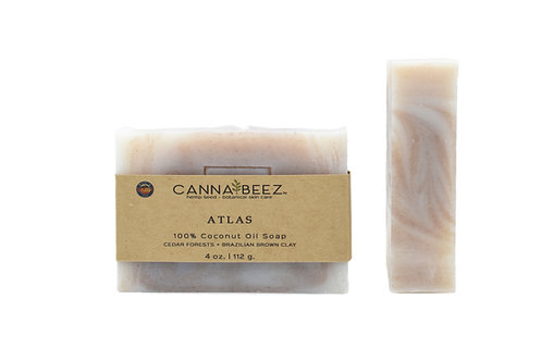 Atlas: Cedar Forests + Brazilian Brown Clay Soap