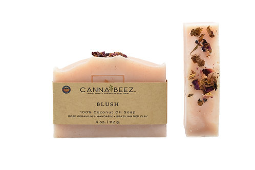 Blush: Rose Geranium + Mandarin + Brazilian Red Clay Soap