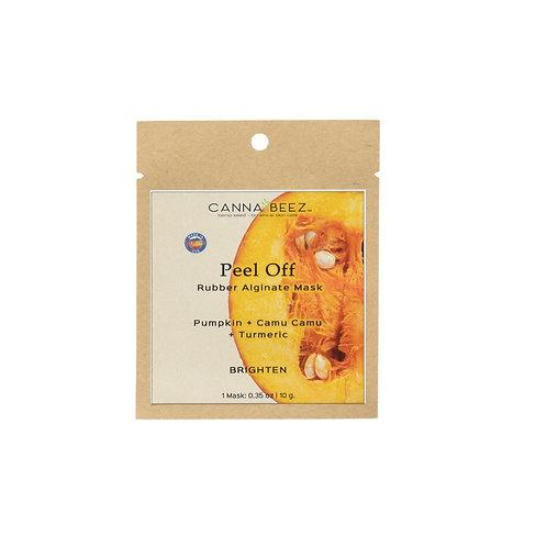 Peel Off Rubber Mask - Pumpkin + Camu Camu +Turmeric | Brighten