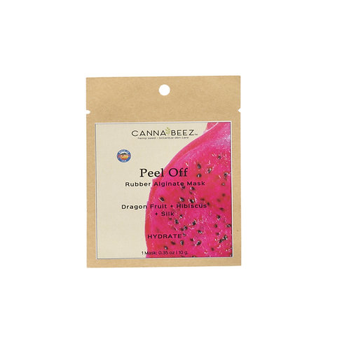 Peel Off Rubber Mask - Dragon Fruit + Hibiscus + Silk | Hydrate