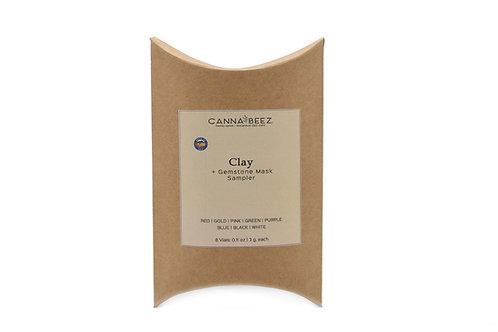 Clay + Gemstone Mask Sampler