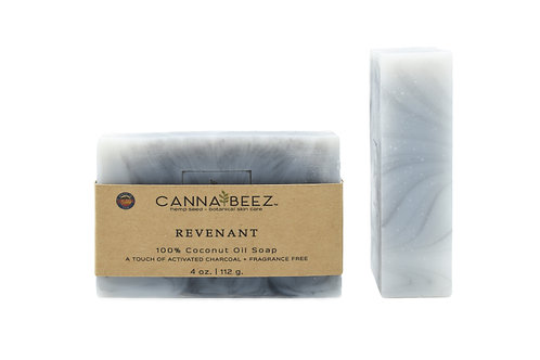 Revenant: Activated Charcoal + Fragrance Free Soap