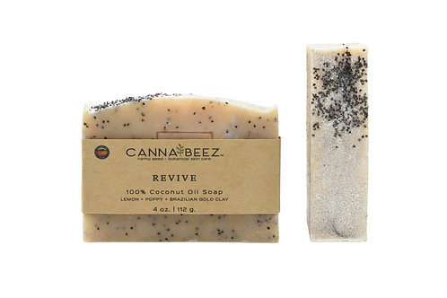 Revive: Lemon + Poppy + Brazilian Gold Clay Soap