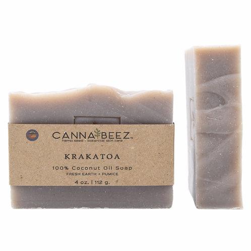 Krakatoa: Fresh Earth + Pumice Soap