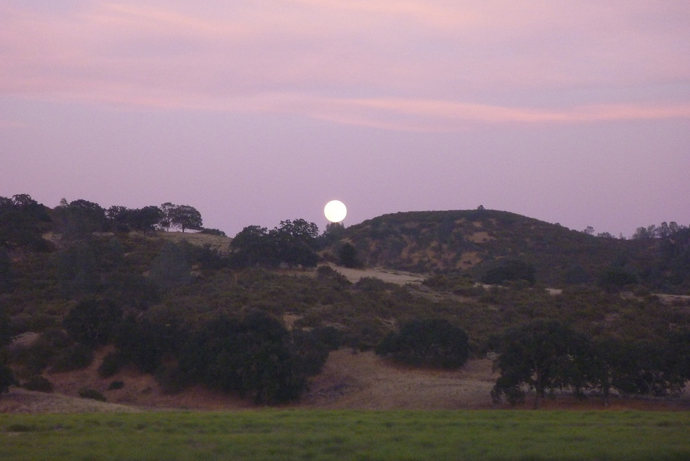 Moonrise at Pinnacles National Park